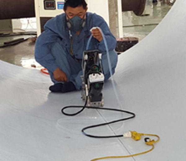 PTFE自动焊接防腐设备